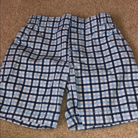 Circo Girls Infant Toddler  Plaid Shorts  Size  24M  or 2T NWT NEW